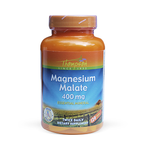 Thompson Magnesium Malate 400mg (120 tablets)