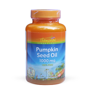 Thompson Pumpkin Seed Oil 1000 mg (60 softgels)