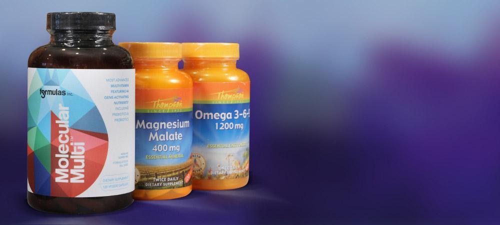 Bottles: Molecular Multi,Omega