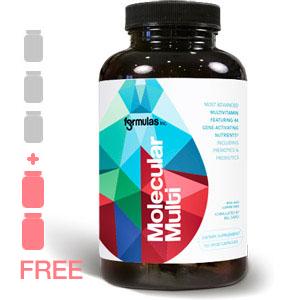 Molecular Multi 3 bottles + 2FREE