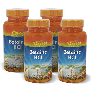 Betaine HCl – Thomson 4 bottles