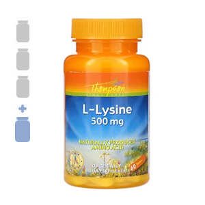 Thompson L-Lysine 500mg –  3 bottles + 1FREE