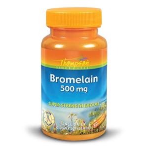 Thompson Bromelain 500mg (30 Vegetarian Capsules)